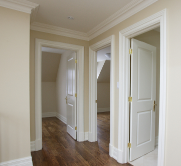 These are interior solid wood doors.